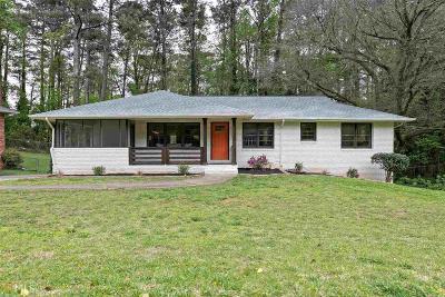 Smyrna Single Family Home New: 1080 Oakdale Drive SE