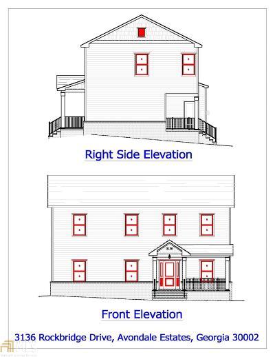Avondale Estates Single Family Home For Sale: 3136 Rockbridge Rd