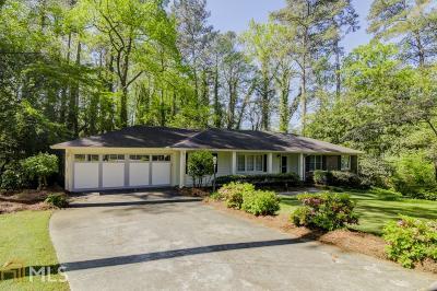 Atlanta Single Family Home New: 1827 Mt Brian Rd
