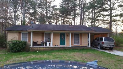Clayton County Single Family Home New: 183 Sunrise Cir