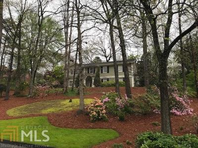 Atlanta Single Family Home New: 2895 Knob Hill Drive SE