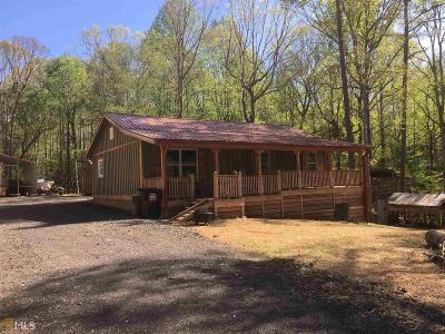 Dawsonville Single Family Home New: 115 Silver Fox Dr