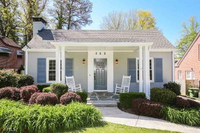 Morningside Single Family Home New: 605 Pelham Rd