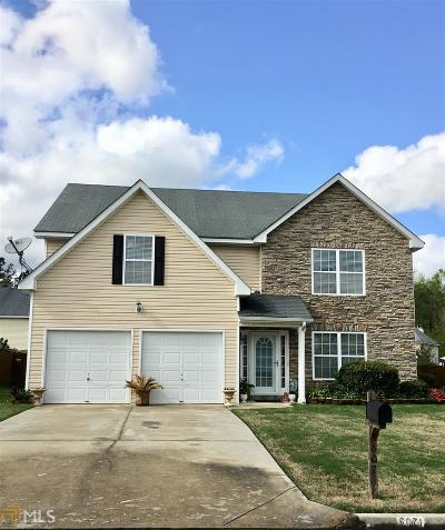 Fairburn Single Family Home New: 6071 Trotters Cir