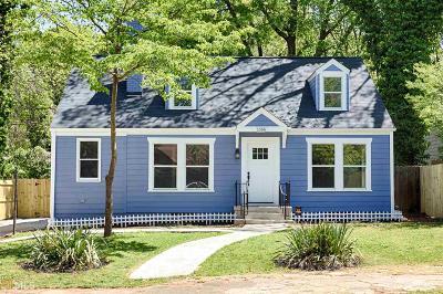 Fulton County Single Family Home New: 1366 SW Allene Ave