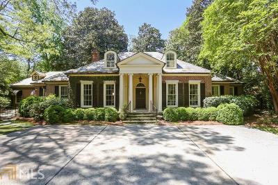 Atlanta Single Family Home New: 2464 Woodward Way NW