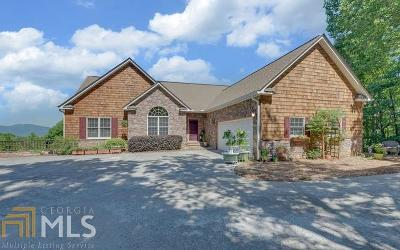 Hiawassee Single Family Home New: 883 Ramey Mountain Road