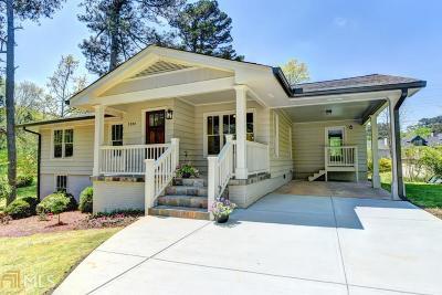 DeKalb County Single Family Home New: 1386 Nalley Cir