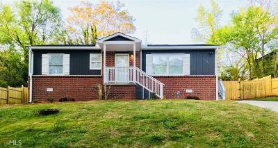 Atlanta Single Family Home New: 947 SE Rebel Forest