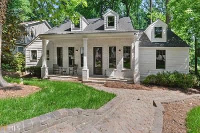 Collier Hills Single Family Home Under Contract: 505 Overbrook Dr