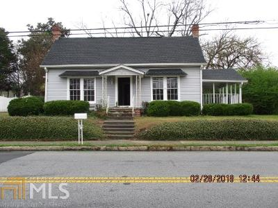 Conyers Single Family Home Under Contract: 979 N Main