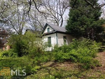 Atlanta Single Family Home New: 690 McDonough Blvd