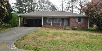 Gwinnett County Single Family Home New: 3141 Oak Dr