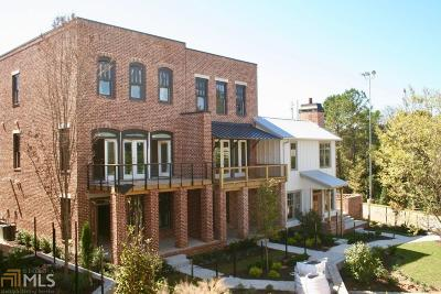 Fulton County Condo/Townhouse New: 1837 Brooks Dr #124