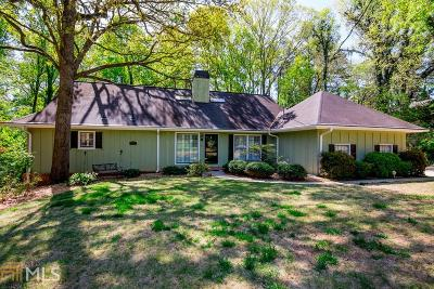 Dekalb County Single Family Home For Sale: 1809 Forest Springs Ct