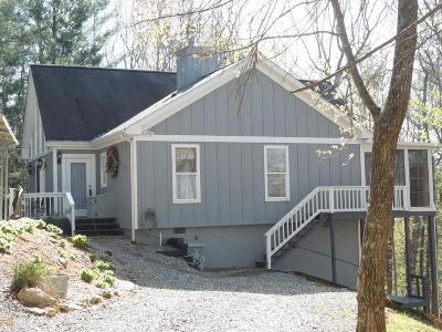 Blairsville Single Family Home New: 118 Coosa View Lane