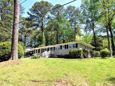 Fulton County Single Family Home New: 3609 Stone Rd