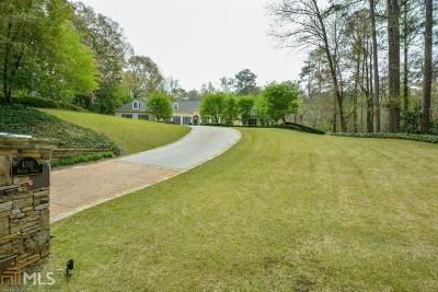 Roswell, Sandy Springs Single Family Home For Sale: 4765 Harris Trl