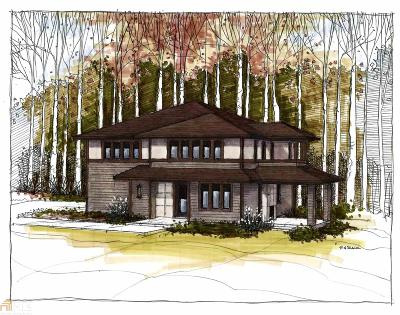Atlanta Single Family Home New: 1725 East Lake Forest Trace