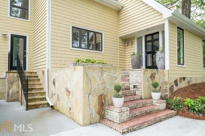 Atlanta Single Family Home New: 718 Wilson Road NW