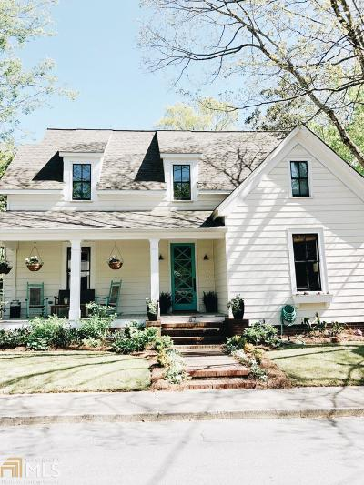 Historic Marietta Single Family Home For Sale: 87 Holland St
