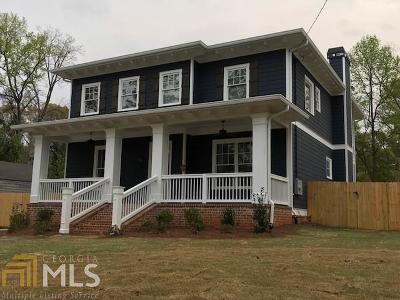 Atlanta Single Family Home New: 256 Spence Avenue