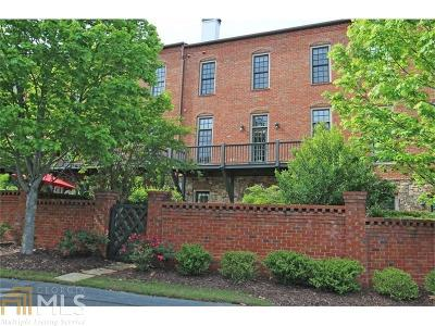Roswell Condo/Townhouse For Sale: 110 Founders Mill Ct