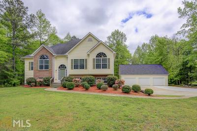 Senoia Single Family Home Under Contract: 2586 Luther Bailey Rd