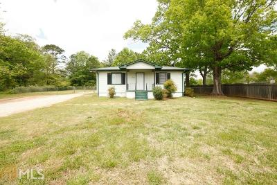 Covington Single Family Home Under Contract: 12212 Brown Bridge Rd