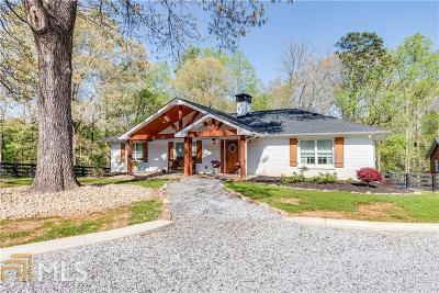 Fulton County Single Family Home For Sale: 15135 Freemanville Rd