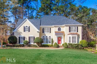 Johns Creek Single Family Home Under Contract: 10110 Twingate Dr