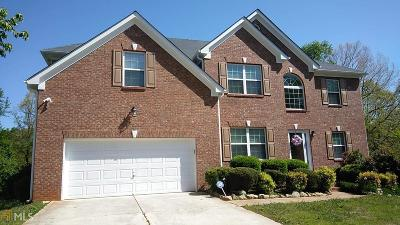 Ellenwood Single Family Home Under Contract: 3946 Sweet Water Pkwy