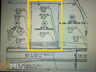 Snellville Residential Lots & Land For Sale: 4525 Annistown Rd