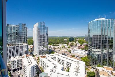 Realm Condo/Townhouse For Sale: 3324 Peachtree Rd #2219