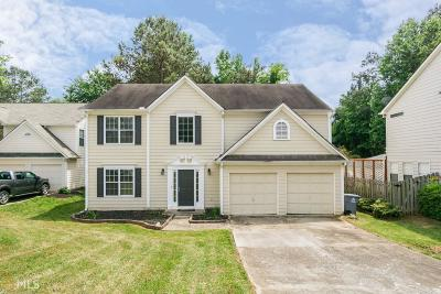 Roswell Single Family Home Under Contract: 1025 Hidden Pond