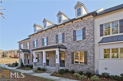 Alpharetta Condo/Townhouse Under Contract: 1914 Forte Ln