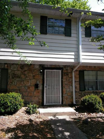 Fulton County Condo/Townhouse For Sale: 4701 Flat Shoals #64B