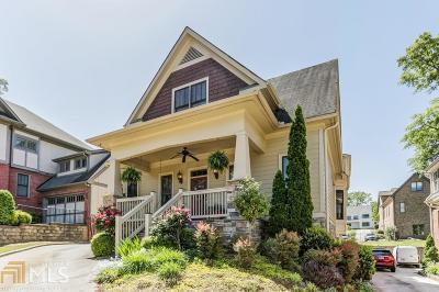 Smyrna Single Family Home For Sale: 1122 Parkview Pl