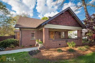 Monroe, Social Circle, Loganville Single Family Home For Sale: 109 Williams St