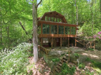 Dahlonega Single Family Home For Sale: 154 SW Hilburn Rd