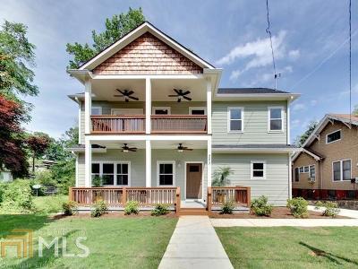 Atlanta Single Family Home Sold: 283 Murray Hill Ave