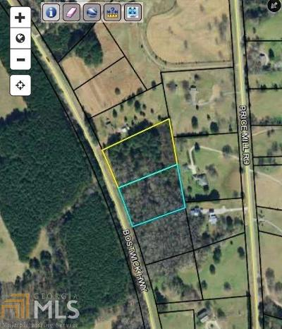Madison Residential Lots & Land For Sale: Bostwick Hwy