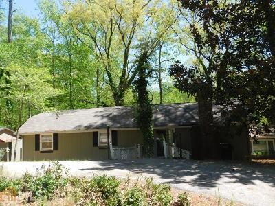 Rockdale County Single Family Home Under Contract: 1531 Twin Valley Tr