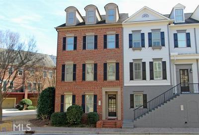 Smyrna Condo/Townhouse For Sale: 4342 Bridgehaven Dr
