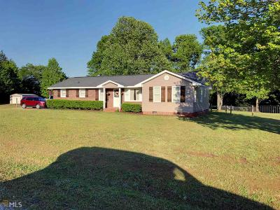 Elbert County, Franklin County, Hart County Single Family Home For Sale: 100 Farris Dr