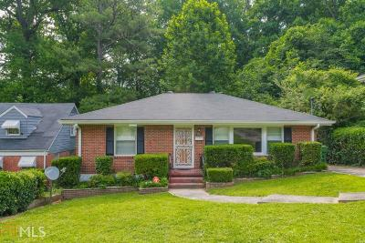 Fulton County Single Family Home For Sale: 817 Gertrude Pl