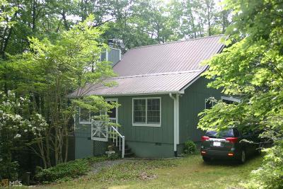 Rabun County Single Family Home For Sale: 967 Saddle Gap Dr #3 &