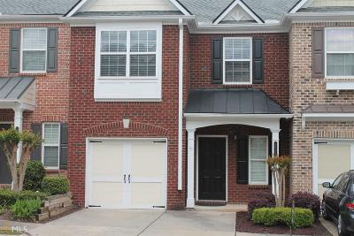 Alpharetta Condo/Townhouse Under Contract: 9785 Preswicke Pt