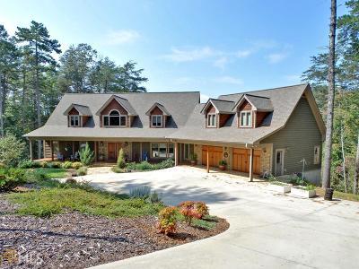 Clarkesville Single Family Home For Sale: 1518 Deer Trail Lakes Dr #15