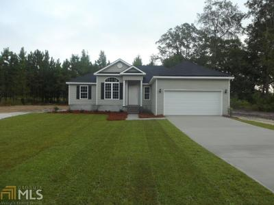 Statesboro Single Family Home For Sale: 121 Stillwater Dr #10